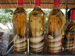 The Snake Wines: How about with a venomous snake in the mix?